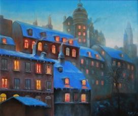 Laurinska palatset | Oil on canvas | 61cm x 50cm | Prod year 2017