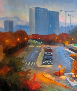 Valla torg | Oil on Canvas | 61cm x 50cm | Painted 2019 | Price: $500 usd / 5.000kr