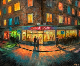 Brickyard   Oil on Canvas   2019   61cm x 50cm   Price $500 / 5.000kr