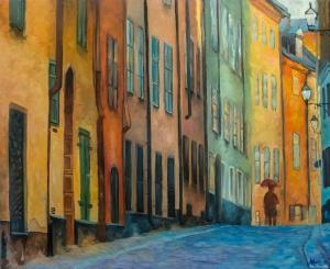 Prästgatan | Oil on Canvas | 2019 | 61cm x 50cm | Price Såld!