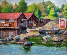Torrö | Oil on canvas | 61cm x 50cm | Prod year 2018 | Price $500 / 5.000kr